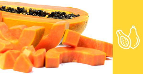 Productos congelados- chunks de papaya