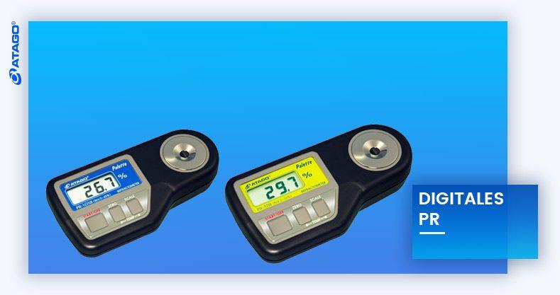 refractómetros digitales PR