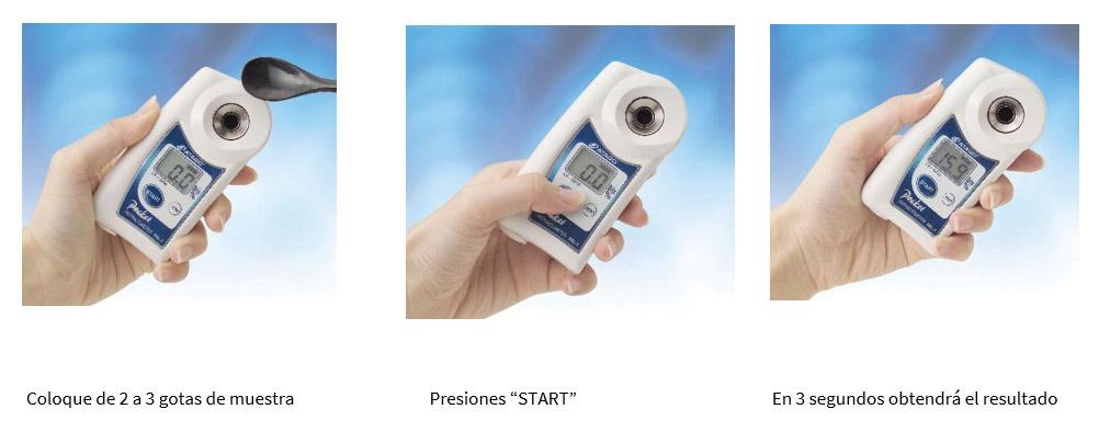 Refractometros Digitales Serie Pal